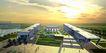 南海艺术中心设计方案0006,南海艺术中心设计方案,国内建筑设计案例,夕阳 天空 太阳