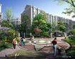 博雅新城0004,博雅新城,国内建筑设计案例,母子 大人 地面