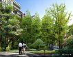 博雅新城0009,博雅新城,国内建筑设计案例,伴侣 散步 绿色
