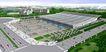 合肥会展中心0010,合肥会展中心,国内建筑设计案例,路口 街道 全景