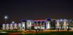 四川中达新材有限公司0005,四川中达新材有限公司,国内建筑设计案例,路灯 夜景 建筑