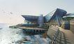 威海金海湾国际饭店0001,威海金海湾国际饭店,国内建筑设计案例,