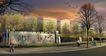 学校景观0018,学校景观,国内建筑设计案例,