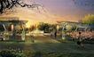 学校景观0019,学校景观,国内建筑设计案例,