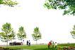 广场绿化环境设计0099,广场绿化环境设计,国内建筑设计案例,