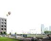 广场绿化环境设计0112,广场绿化环境设计,国内建筑设计案例,