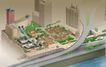 手绘图纸0004,手绘图纸,国内建筑设计案例,