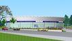 汽车展览馆0002,汽车展览馆,国内建筑设计案例,