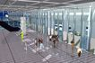 珠海珠澳海关0001,珠海珠澳海关,国内建筑设计案例,海关 行走 室内