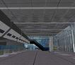 珠海珠澳海关0003,珠海珠澳海关,国内建筑设计案例,通道 吊顶 珠海珠澳海关