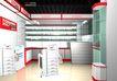 电脑城装修设计0007,电脑城装修设计,国内建筑设计案例,壁柜 玻璃柜 柜台设计