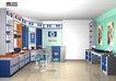 电脑城装修设计0014,电脑城装修设计,国内建筑设计案例,展台 销售中心 服务处
