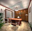 装饰室内0004,装饰室内,国内建筑设计案例,落地灯 办公桌 椅子