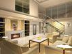 装饰室内0006,装饰室内,国内建筑设计案例,复式楼 电视柜  壁画
