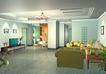 装饰室内0007,装饰室内,国内建筑设计案例,液晶电视 吊灯 装潢