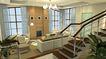 装饰室内0011,装饰室内,国内建筑设计案例,楼梯 吊灯 三人沙发