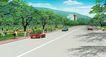 道路化-景观0014,道路化-景观,国内建筑设计案例,白云 车子 路人