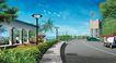 道路化-景观0020,道路化-景观,国内建筑设计案例,装饰灯 弯道 景色