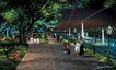 道路化-景观0024,道路化-景观,国内建筑设计案例,喷泉 一家三口 漫步