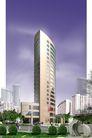 长青大厦0001,长青大厦,国内建筑设计案例,长青大厦 主体 周身
