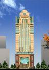雅兰大厦0002,雅兰大厦,国内建筑设计案例,天空 雅兰大厦 松柏