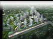鸟瞰效果图0008,鸟瞰效果图,国内建筑设计案例,城市 建筑 街道
