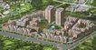 鸟瞰效果图0010,鸟瞰效果图,国内建筑设计案例,小区 城建 开发