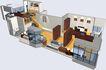 鸿运星城0004,鸿运星城,国内建筑设计案例,户型 富式楼 家具