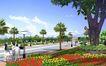 黑龙江广电集团0002,黑龙江广电集团,国内建筑设计案例,花卉 鲜花 公园