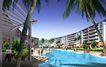 龙珠花园0002,龙珠花园,国内建筑设计案例,水池 游泳池 椰树