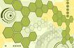 最佳设计背景PSD20005,最佳设计背景PSD2,创意背景,六边形 分子 细胞 蜂窝 结构