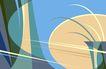 最佳设计背景PSD30019,最佳设计背景PSD3,创意背景,花瓶 椭圆 斑斓 兰花 渗透
