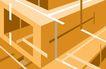 最佳设计背景PSD50004,最佳设计背景PSD5,创意背景,立体 四边形 盒子 建筑 线条