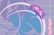 最佳设计背景PSD50005,最佳设计背景PSD5,创意背景,花饰 花朵 彩色