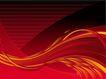 创意图案0033,创意图案,前卫设计,彩带 火红色 红带子