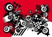 创意图案0035,创意图案,前卫设计,城市 暗色 繁杂