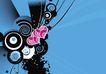 创意图案0036,创意图案,前卫设计,紫心 相印 前卫