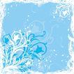 创意图案0067,创意图案,前卫设计,淡蓝 背景 花丝