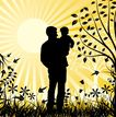 女人与花0018,女人与花,前卫设计,父亲 太阳 四射 草原 教育