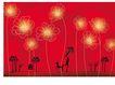 女人与花0032,女人与花,前卫设计,女人 狗 幻想