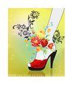 女人与花0039,女人与花,前卫设计,美足 高跟 靓丽