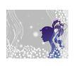女人与花0055,女人与花,前卫设计,题材 柔和 杨柳