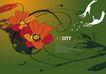女人与花0066,女人与花,前卫设计,释放 鲜花 种子