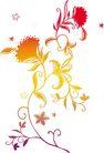 女人与花0073,女人与花,前卫设计,幼小 花枝 柔弱