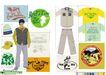 时尚流行服饰设计0014,时尚流行服饰设计,前卫设计,格子 衬衫 阳光 河马 融合