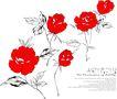 时尚藤图0116,时尚藤图,前卫设计,红色 玫瑰 画作