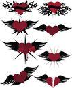 时尚藤图0127,时尚藤图,前卫设计,翅膀 护送 爱心