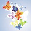 时尚藤图0132,时尚藤图,前卫设计,彩色 飞蝶 释放