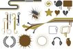 极品图标素材0016,极品图标素材,前卫设计,箭头 零件 轮车 半圆 水流
