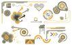 极品图标素材0020,极品图标素材,前卫设计,模型 平面图 雨滴